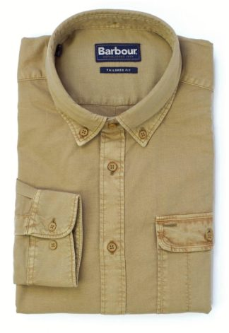 Barbour Stonebower Shirt military, brown