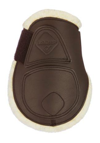 LeMieux Leder-Streichkappen Comfort, braun