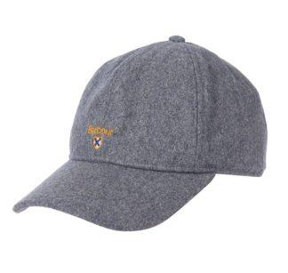 Barbour Crest Sports Cap, grey