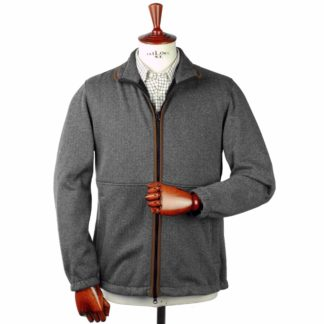 Alain Paine Aylsham Herringbone Fleece Jacke