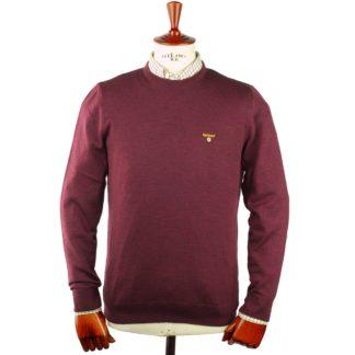 Barbour Saltire Knit Pullover, merlot