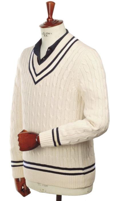 Alan Paine Cricket Pullover Harpsdale