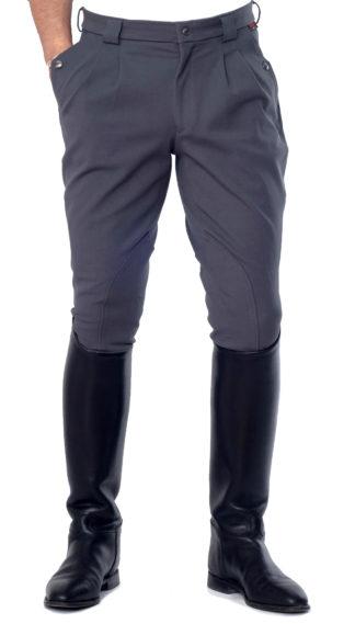 Herren Reithose Brunswick Breeches, grey 02